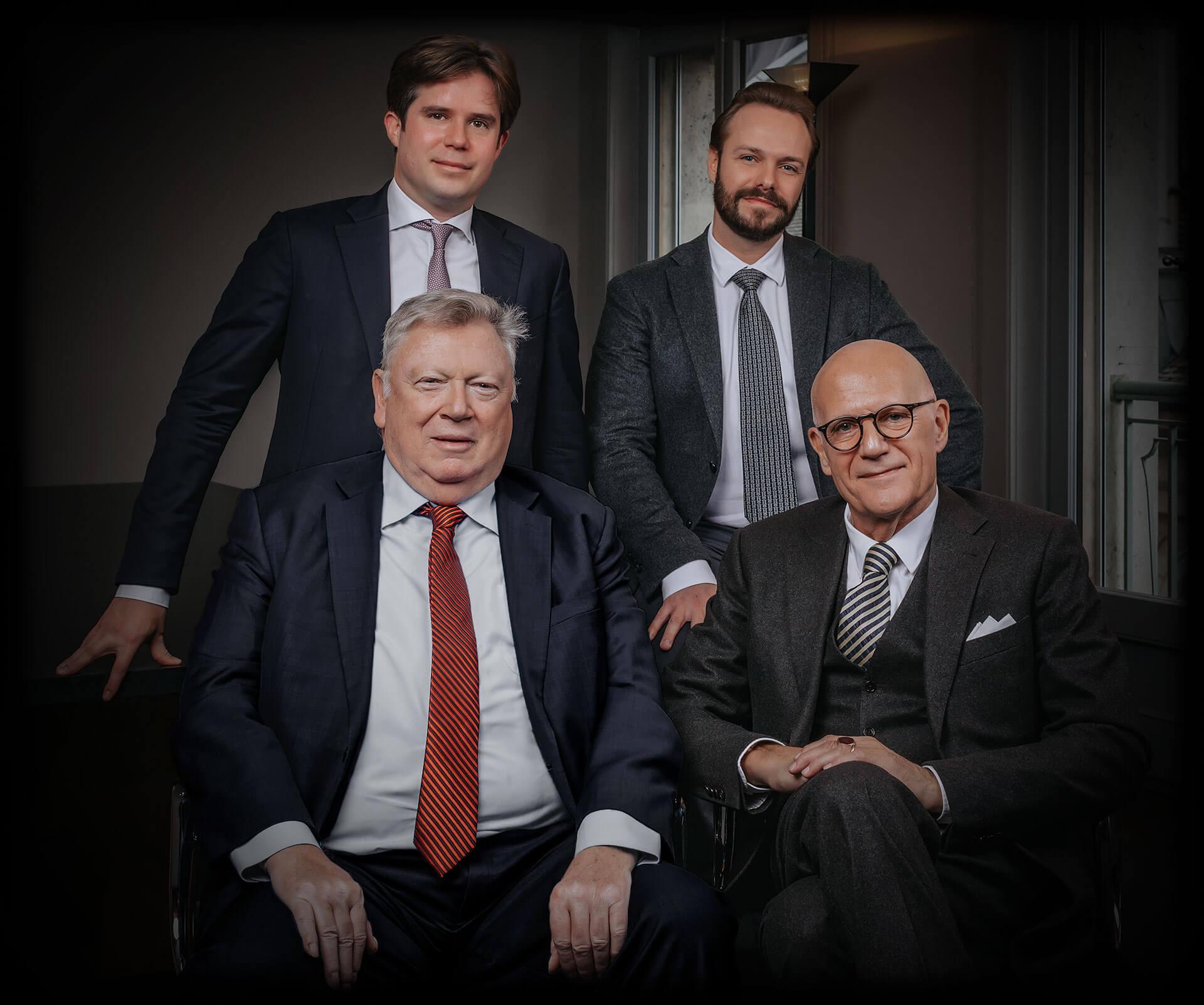 Felix Neri, Grégory Lachat, Pierre Schifferli, Olivier Weber-Caflisch